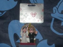 Disney Store Carl & Ellie Wedding Sketchbook Ornament. 2020. New. - $24.74
