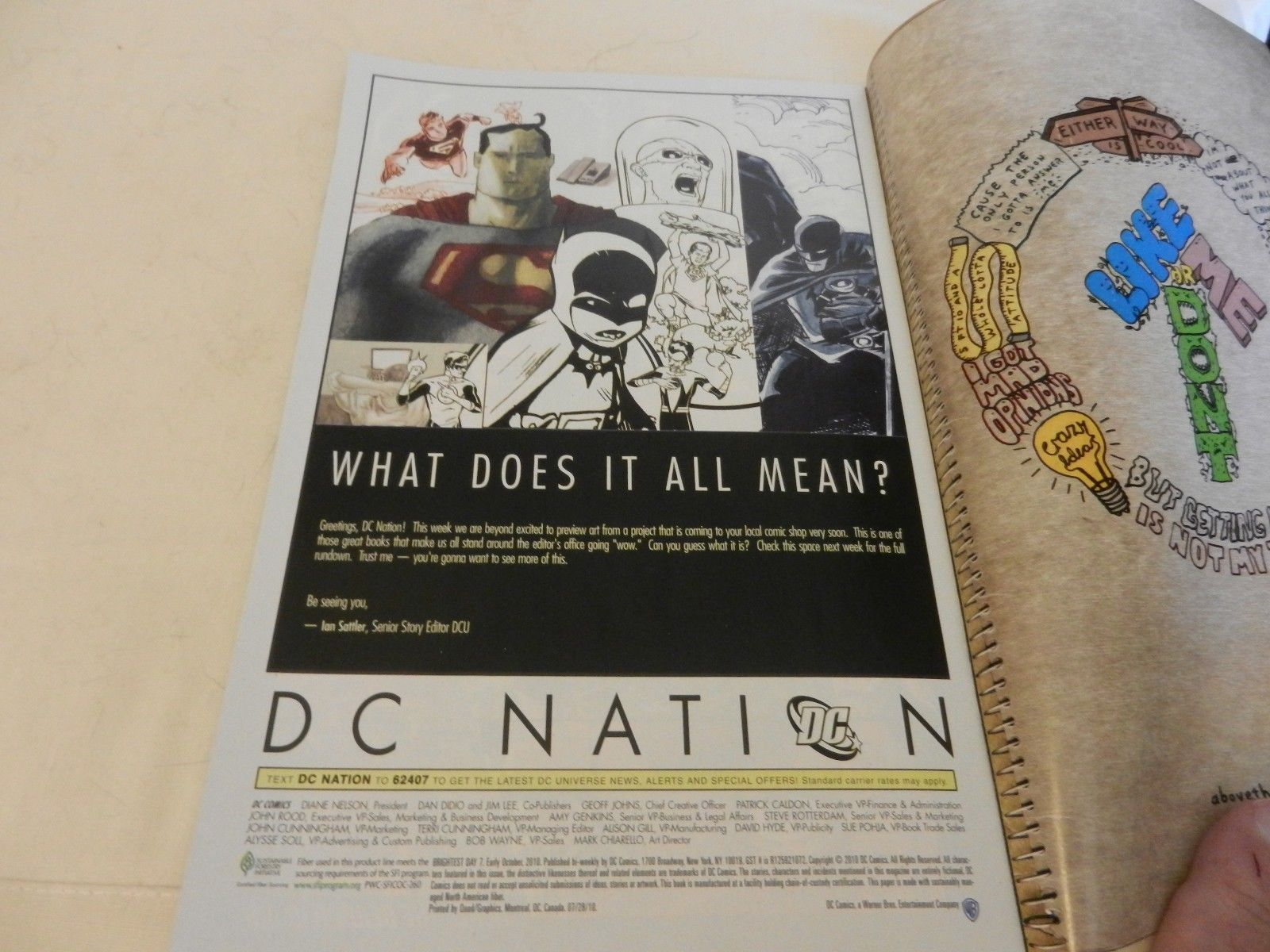Brightest Day Will Deadman Wield The White Lantern? DC Comics #7 October 2010