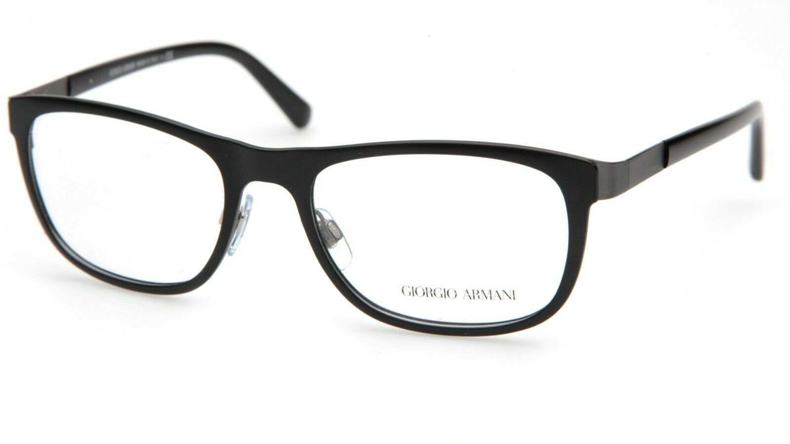 Primary image for New GIORGIO ARMANI AR5012 3003 Black EYEGLASSES FRAME 53-18-140mm B38mm Italy