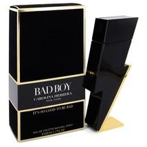 Bad Boy By Carolina Herrera Eau De Toilette Spray 1.7 Oz For Men - $93.22