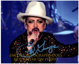 Boy George Authentic Original Signed Autographed 8X10 w/ Coa 1331 - $60.00