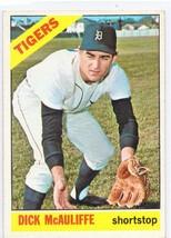 1966 TOPPS DICK MCAULIFFE TIGERS #495 *NICE CARD* - $0.99