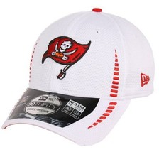 New Era 39THIRTY NFL Tampa Bya Buccaneers Football Hat Cap Stretch Size M/L - £15.43 GBP