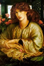 Lady of the Window; La donna Della Finestra by Dante Gabriel Rossetti - Art Prin - $19.99+