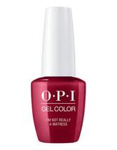 OPI GelColor I'm Not Really A Waitress GC H08 Soak Off Led/Uv Gel Polish... - $14.50