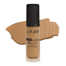 L.A. Girl Pro Matte HD Long Wear Matte Foundation GLM675 Medium Beige - $9.89