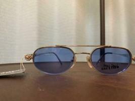Jean Paul Gaultier Vintage Sunglasses Men's Blue Lens Clip-on Rare New - $720.71