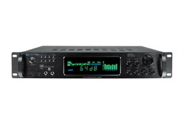 Technical Pro H1502URBT 1500W Pro Digital Amplifier/Preamp/Tuner/Bluetooth image 1