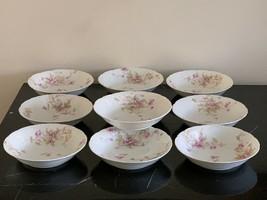 Antique Theodore Haviland Limoges Set of 10 Dessert Bowls - $399.00