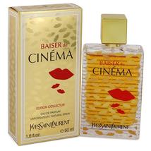Baiser De Cinema by Yves Saint Laurent Eau De Parfum Spray 1.6 oz for Women - $82.03