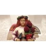 Angel Of Persistence Gardening Hydrangea 2002 Jim Shore Heartwood Creek ... - $39.99