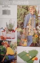 Garden Accessories Pattern 4364 Knee Pads, Hat, Tote - $9.99