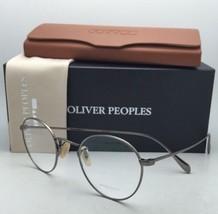 New Oliver Peoples Eyeglasses Coleridge Ov 1186 5039 47-22 Antique Gold Frames - $339.95