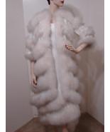 MR BLACKWELL RARE CUSTOM Formal Dress & Jacket White Asy Fur Sequin Trim  8 - £2,736.78 GBP