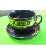 Great California Pantry CAFE GODIVA Cup and Saucer..............FREE POS... - $11.49