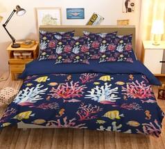 3D Coral Red Pattern 26 Bed Pillowcases Quilt Duvet Single Queen King US Lemon - $102.84+