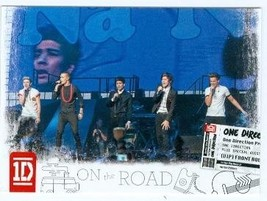 One Direction trading card (One Direction 1D) 2013 Panini On the Road #14 - $4.00