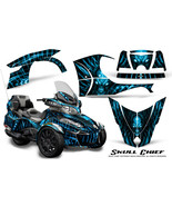 CAN-AM BRP SPYDER RT 2014-2019 CREATORX GRAPHICS KIT DECALS SKULL CHIEF ... - $533.45