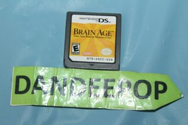 Brain Age: Train Your Brain in Minutes a Day (Nintendo DS, 2006) Video Game - $9.89