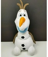 "Olaf Stuffed Animal Pillow Disney Frozen Olaf 24"" Character Large Plush ... - $15.58"