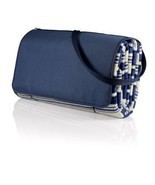 Blanket Tote XL- Blue Stripes - $49.95