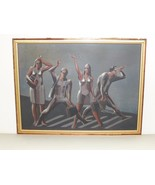 Listed Colombian Artist Hernando Carrizosa Ochoa Oil Painting on Board - $5,000.00