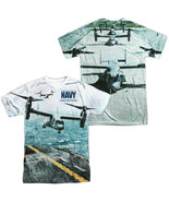 Authentic US Navy Bell Boeing V-22 Osprey Sublimation Allover Front Back... - £25.02 GBP+