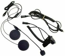 1 Motorola Micro Speaker Kit For Open Motorcycle Helmet - $31.44