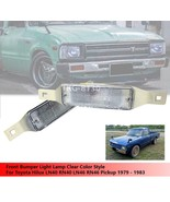 Front Bumper Light Lamp Clear Lens For Toyota Hilux LN40 RN40 LN46 RN46 ... - $34.21