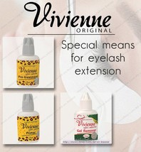 NEW! Viviene Pre-treatment | Primer | Gel remover | for eyelash extensio... - $28.71+