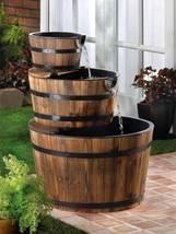13841 Cascading Fountains Apple Barrel Water Fountain - $153.84