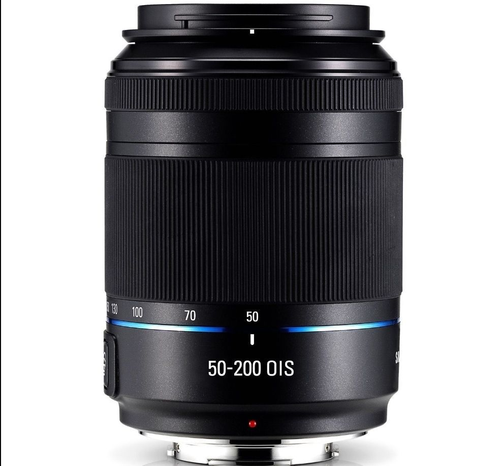 Samsung NX 50-200mm F4-5.6 III ED OIS Zoom lens -Black For NX1 NX30 NX300 NX500