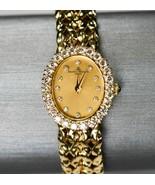18K Yellow Gold Baume & Mercier Diamond Ladies Watch .75TDW 41.5g VS Vin... - $2,595.00