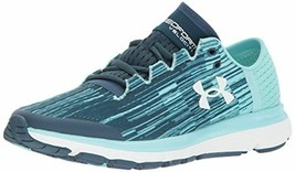 Under Armour Women's 1298675 918 Speedform Velociti Graphic Shoe Navy 7 M - $89.07