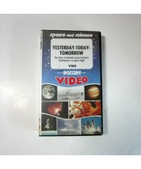 Vintage Yesterday-Today-Tomorrow Story of Rockwell Space Division VHS Video - $7.99