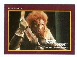 Star Trek The Next Generation card #210 Allegiance - $3.00