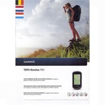 Garmin TOPO Benelux PRO -microSD/SD Topo GPS & Basecamp - $42.56