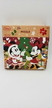 Disney Store Christmas Mickey & Minnie 500 Piece Puzzle New In Box And S... - $11.99