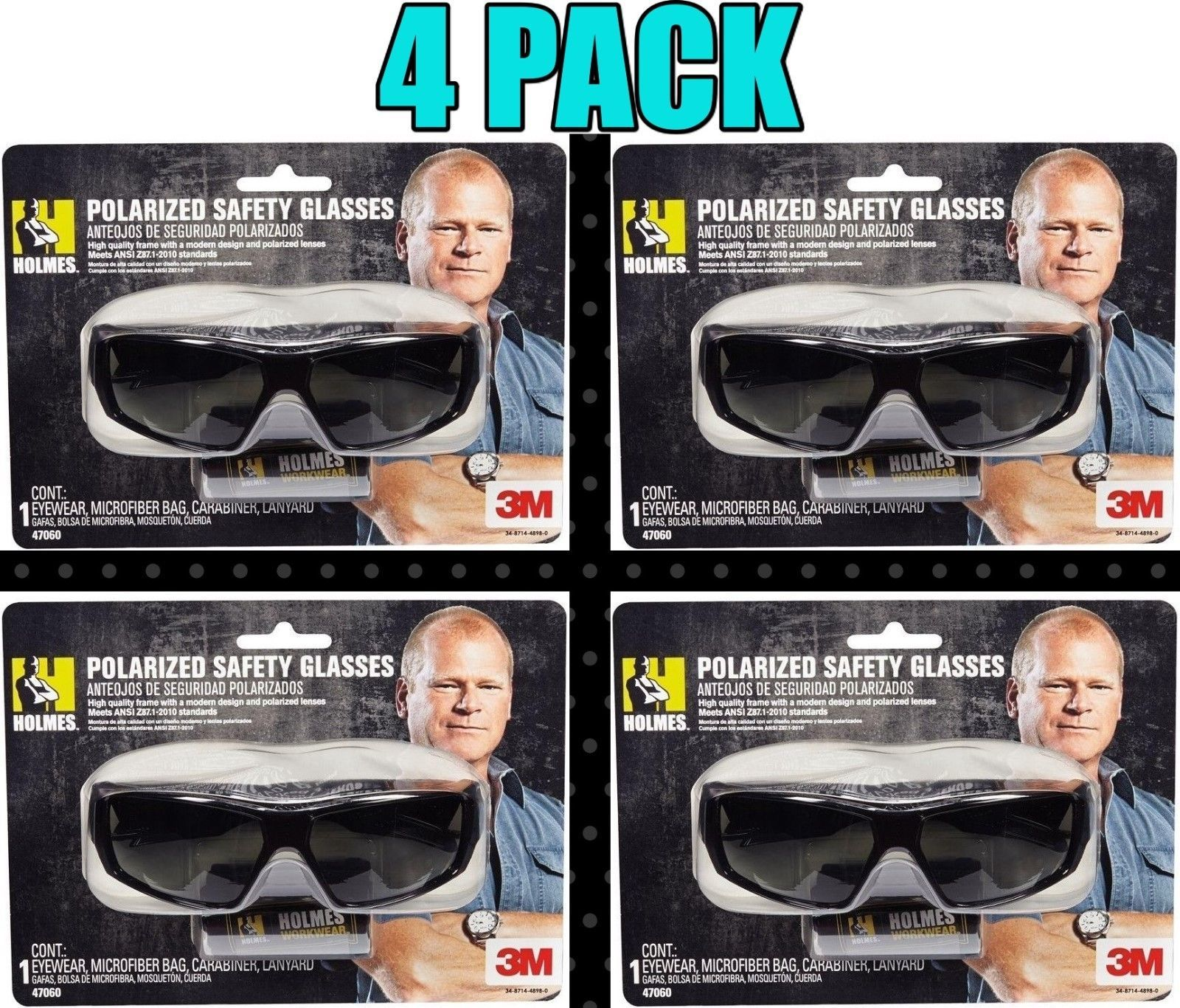 4 Pack 3M Holmes Black Frame w  Tinted and 50 similar items 3a16bc043867