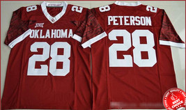 28 Adrian Peterson - Oklahoma Sooners College Football Stitched Jerseys ... - $42.00