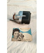 Vintage Bell & Howell Zoomatic Electric Director Series 8mm Movie Camera  - $29.70