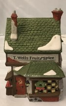 "Department 56 Dickens' Village ""T. Wells Fruit and Spice"" - $16.83"