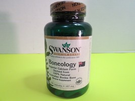 Swanson Boneology Superior Form Calcium 120 Capsules Sealed Mfg Date 10/12 - $10.00