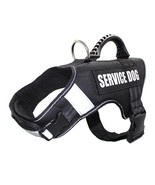 Dog Service Vest Patches Harness Mesh Removable Matching Working Trainin... - $49.99