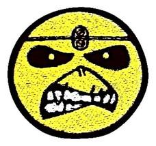 Iron Maiden Eddie Smile Embroidered Rock Patches Sew Iron On Badge Jacke... - $2.88+