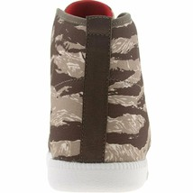 Reebok Men's The Berlín Chukka Marrón Tigre Camuflaje Hi Top Zapatillas 10.5 11 image 2