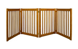 Dynamic Accents Four Panel EZ Pet Gate - Large/Artisan Bronze 961-42623 - $251.24