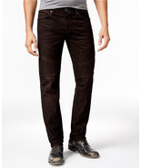 NEW TRUE RELIGION ROCCO RELAXED SKINNY FIT MOTO CORDUROY PANTS 31 - $174.99