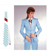 necktie david bowie ziggy stardust starman life on mars stars halloween ... - $24.00