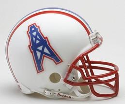 NFL Houston Oilers 81-96 Riddell VSR4 Mini Replica Football Helmet by Ri... - $28.95